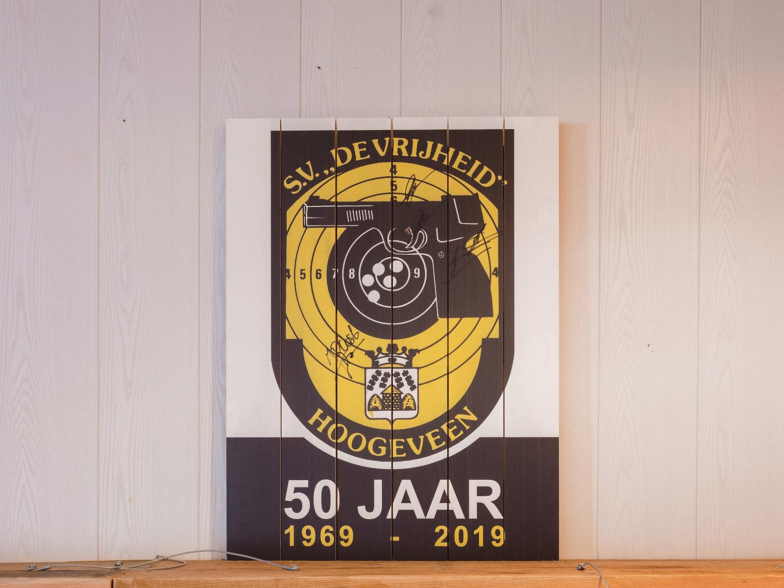 50 jarig jubileum van SV De Vrijheid Hoogeveen